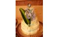 ESK2072 -  erre az esküvői torta kódra hivatkozzon!