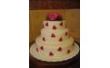 ESK2082 -  erre az esküvői torta kódra hivatkozzon!