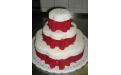 ESK2054 -  erre az esküvői torta kódra hivatkozzon!