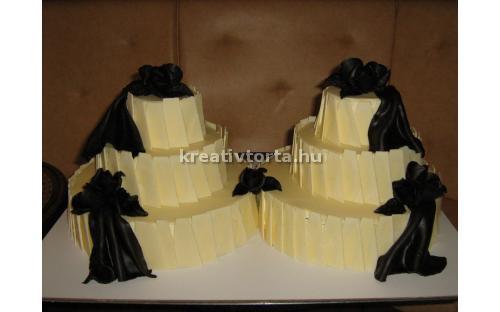 ESK2026 -  erre az esküvői torta kódra hivatkozzon!
