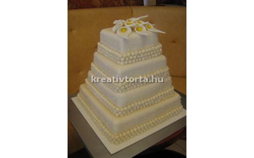 ESK2021 -  erre az esküvői torta kódra hivatkozzon!