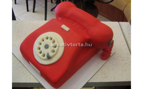 Telefon torta KRE2059